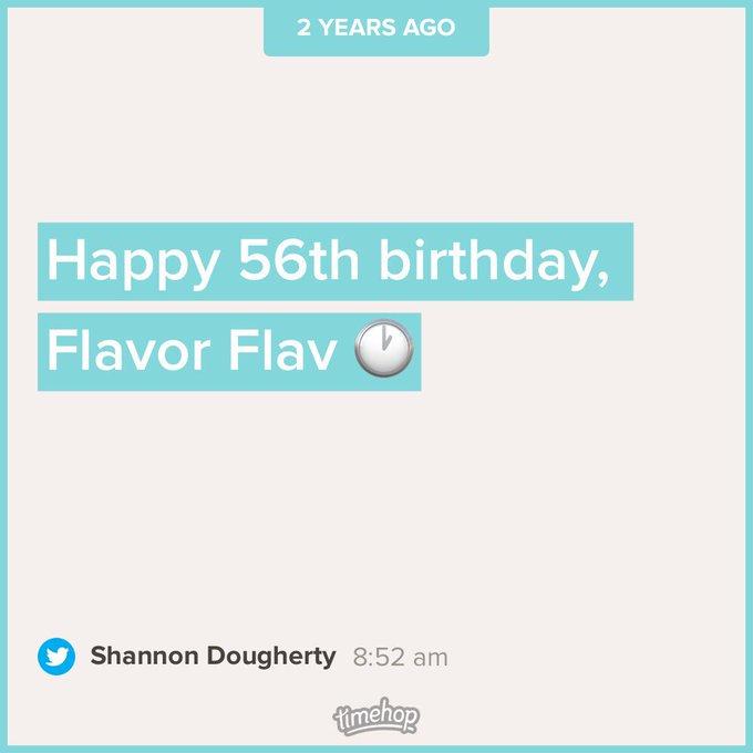 Happy 58th birthday, Flavor Flav!