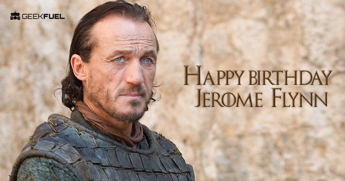 Happy Birthday to Jerome Flynn aka Bronn from Game of Thrones.  Who\s excited for season 7?