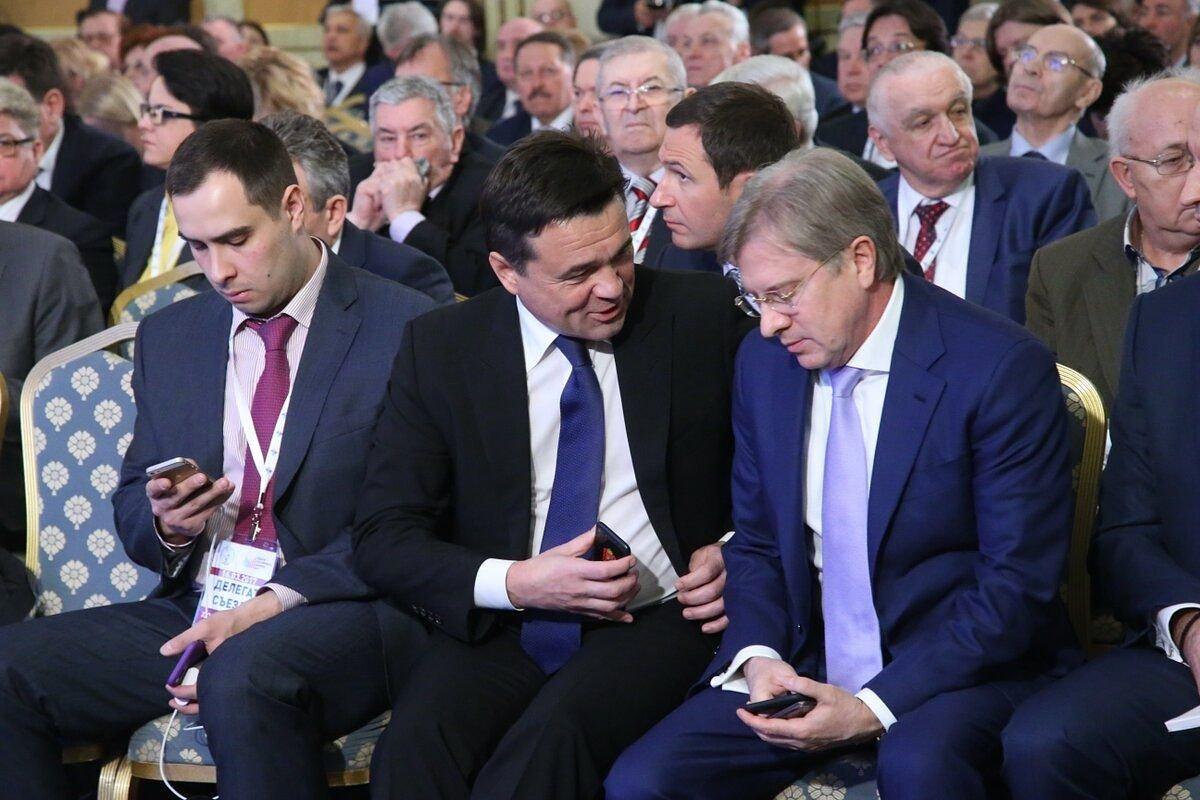 На съезде РСПП перед выступлением Президента #РСПП #инвестиции https://t.co/vEKDdVG44N