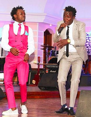 Bahati counterattacks Willy Paul, hits the studio with top Tanzanian secular artist