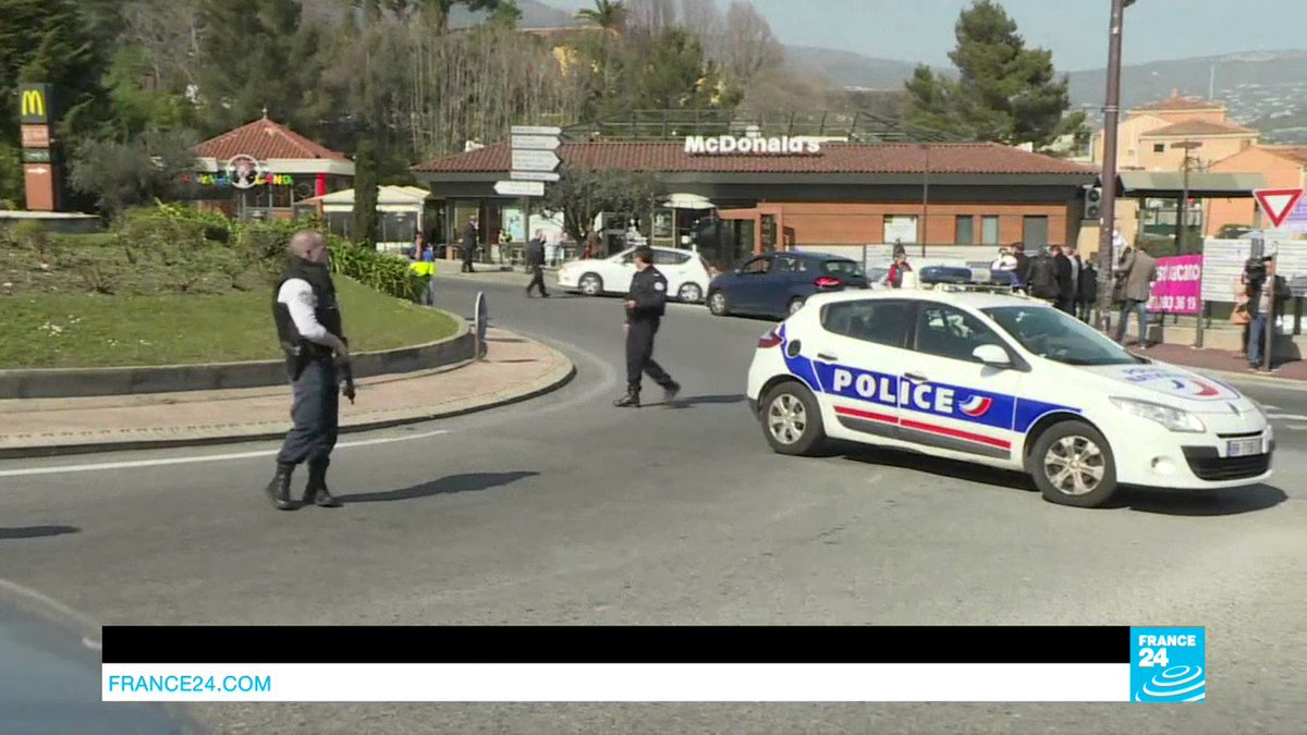VIDEO -  France: Several injured in shooting at high school in Southern town of Grasse