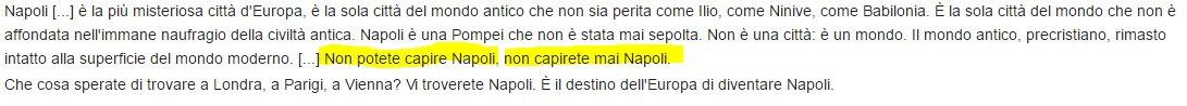"""#ilnapoletanoefortunatoperche """"Napoli è la sola città del mondo che non è affondata nell'immane naufragio della civiltà"""" (C.Malaparte) https://t.co/RJpHcaiQgu"""