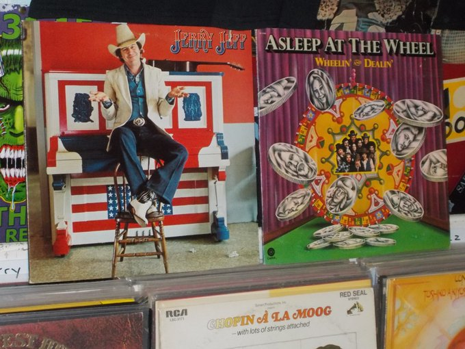 Happy Birthday to Jerry Jeff Walker & Ray Benson of Asleep At The Wheel