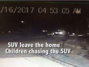Glen Carbon neighbor's surveillance video