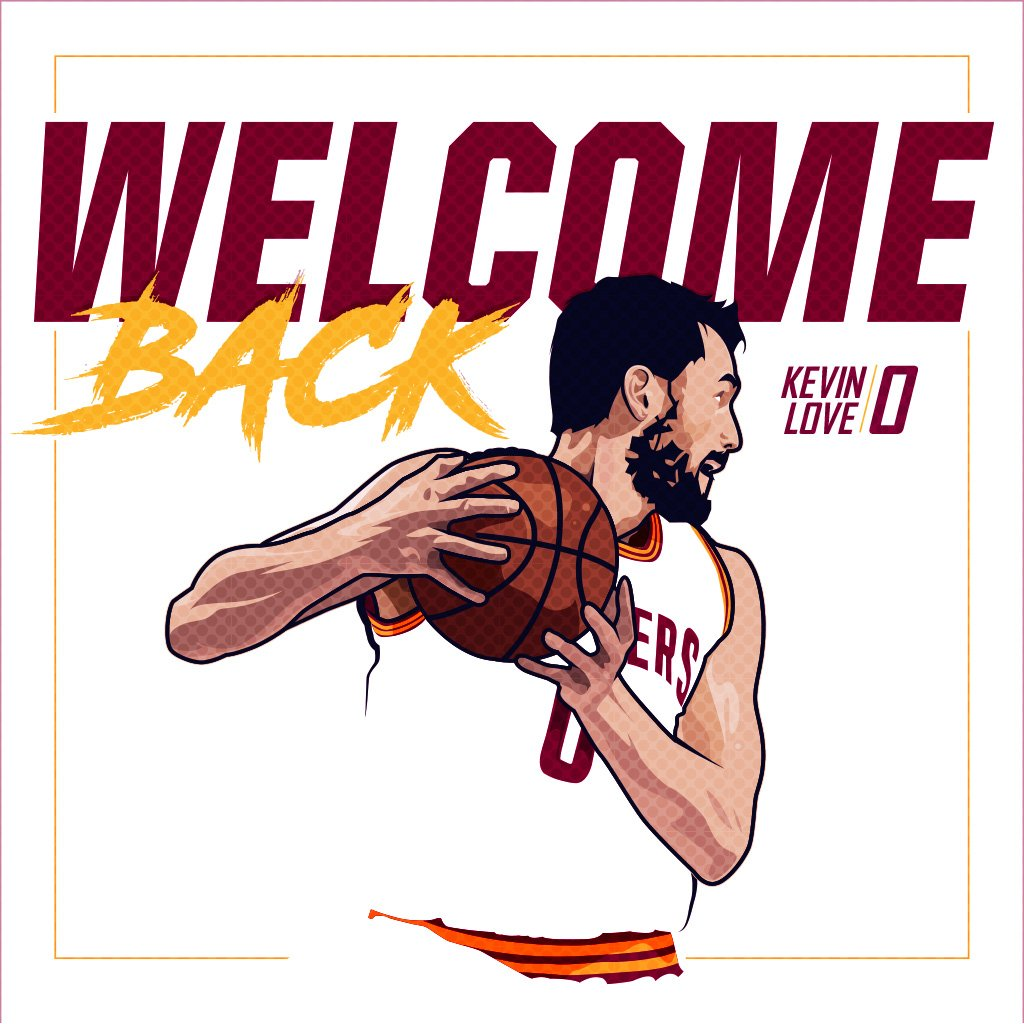 Kevin Love is officially active for #CavsJazz. �� https://t.co/NsprjzGJhX
