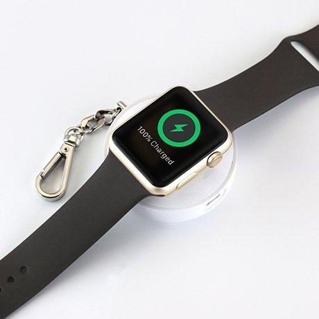 Apple Watchをどこでも充電。キーホルダー感覚のモバイルバッテリーTUNEWEAR #applewatch #w