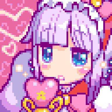 RT @autaro_x: 『マッチ売りの魔法少女カンナ』  「くさったやつどーこだ」 「オレか⁈」←他多数  #dotpict #pixelart...