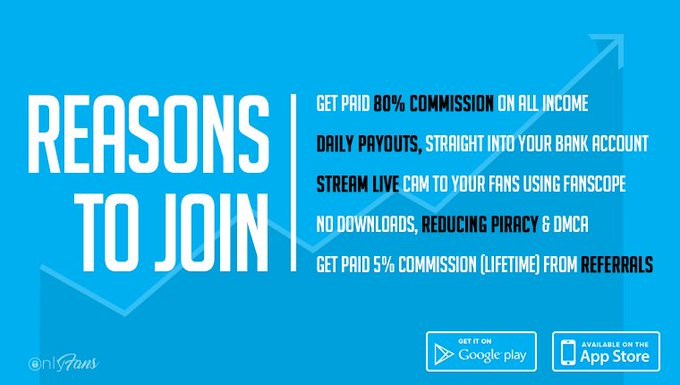Join OnlyFans today, set a monthly subscription price and get paid for your content! https://t.co/nyJ6A7qeev