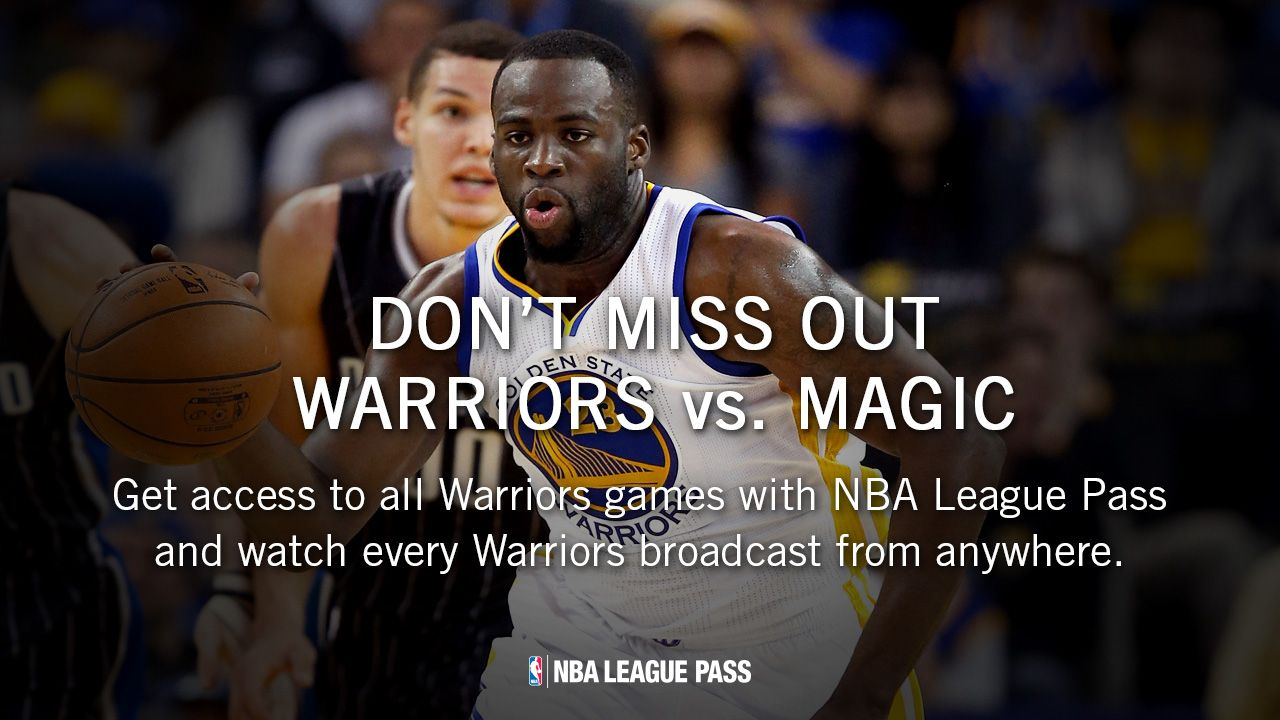 Want to watch tonight's game but not in Northern California? Check us out on League Pass » https://t.co/ygtTGnXfQH https://t.co/iiK10nIjl5