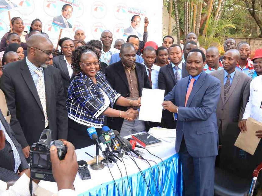NASA leaders have chemistry, will stick together - Kalonzo