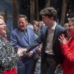 Justin Trudeau brings Ivanka Trump to Broadway show about welcoming outsiders