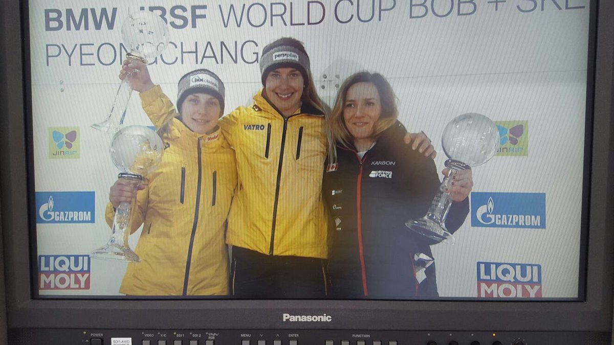 BMW IBSF Skeleton Gesamtweltcup der Frauen geht an Jacqueline Lölling vor Tina Hermann #WirfuerD #BSDteam https://t.co/OkUcEb0SEN