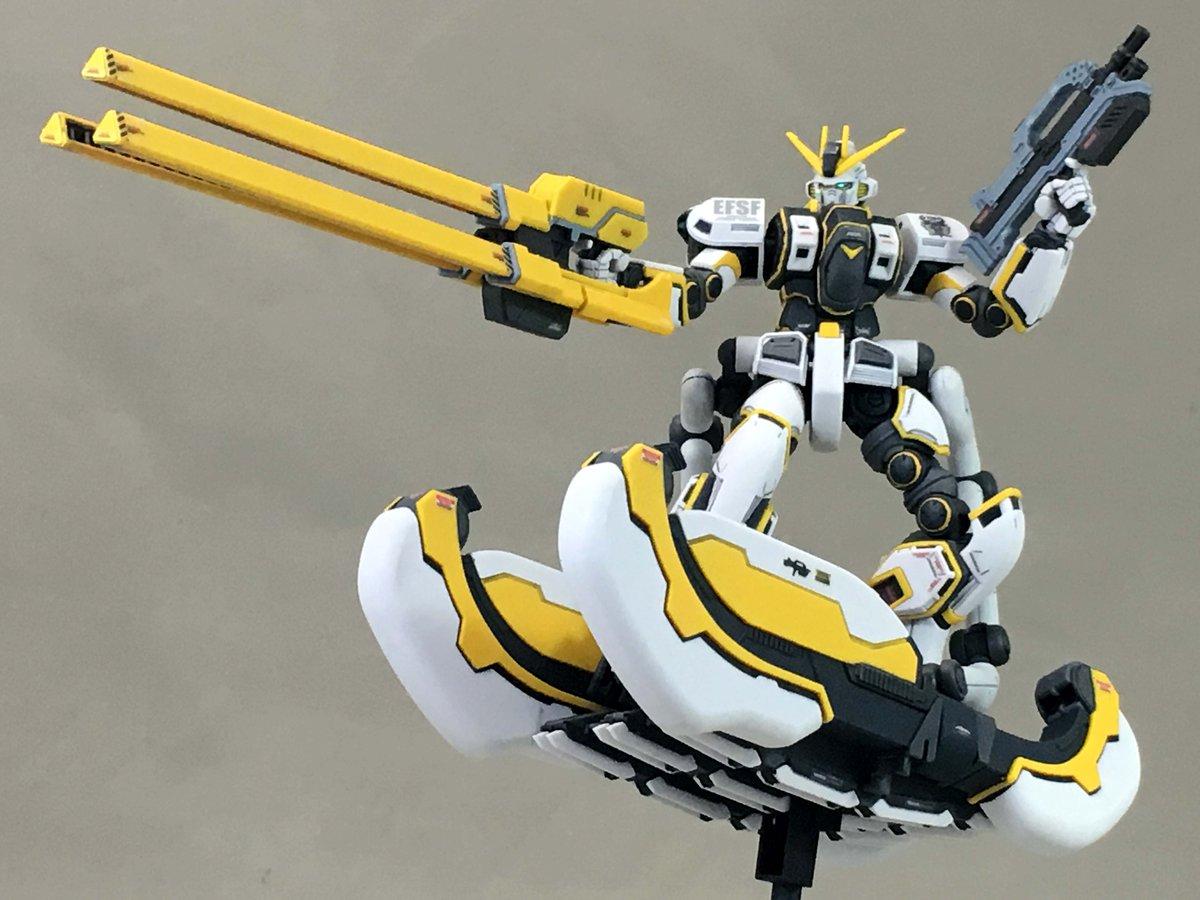 HG 1/144「RX-78AL アトラスガンダム(GUNDAM THUNDERBOLT Ver.)」組んだ。「サンダー