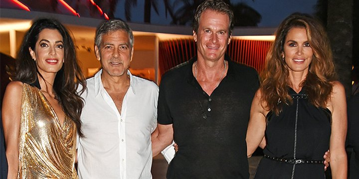 Cindy Crawford and Rande Gerber are sure George Clooney will be an 'amazing' dad