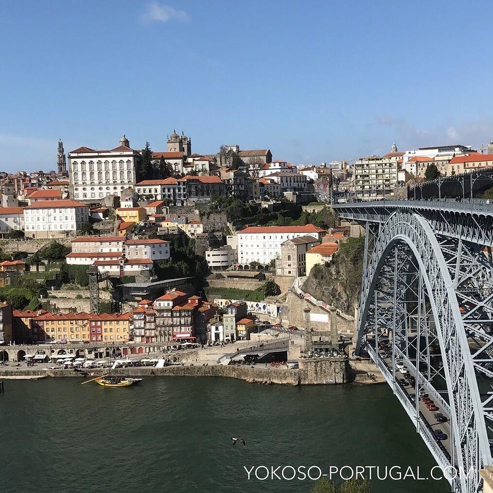 test ツイッターメディア - 世界遺産の街ポルトとドウロ川に架かるドン・ルイス1世橋。 #ポルト #ポルトガル https://t.co/LPNZanKSjx
