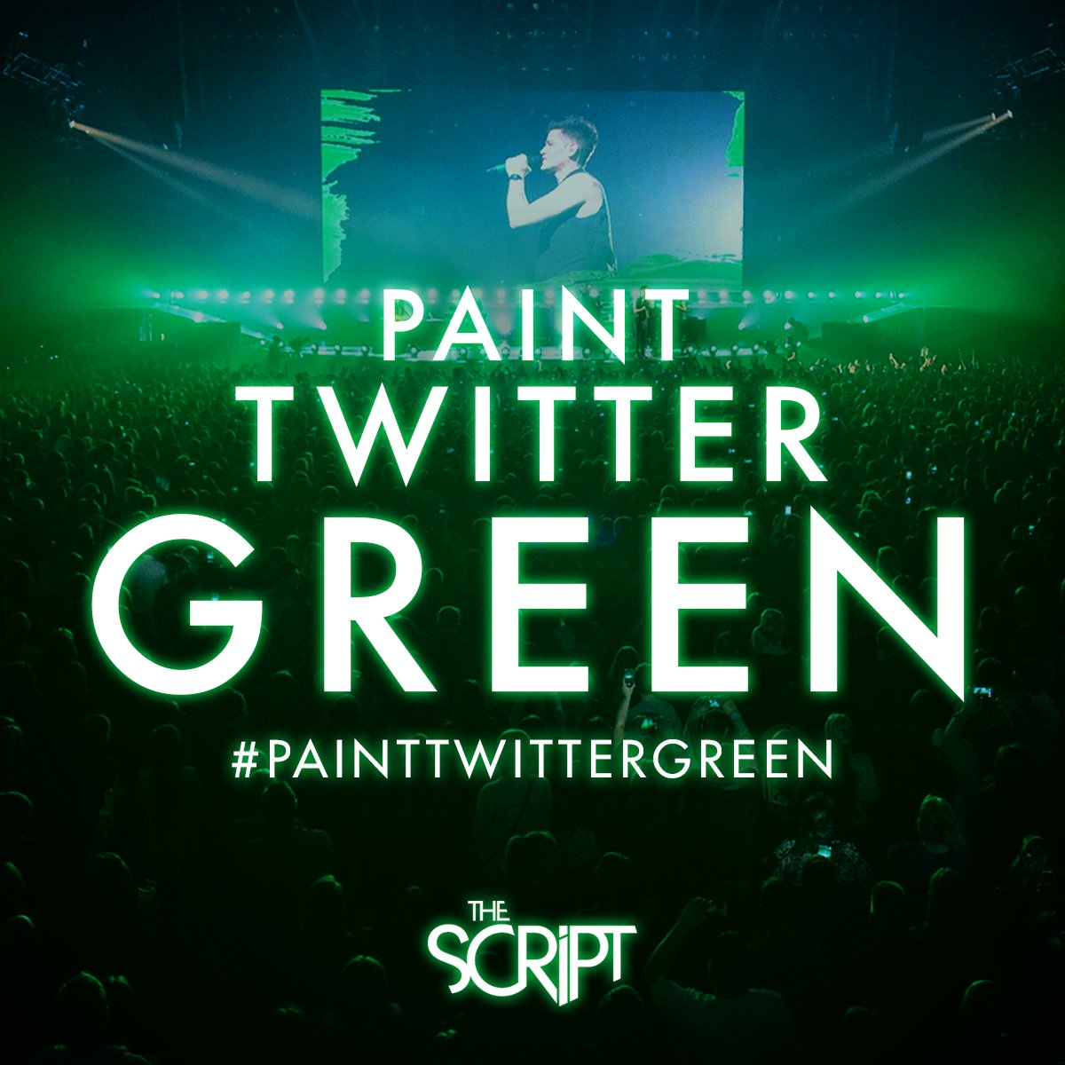 EPIC! Our whole feed is green! Keep on tweeting #PaintTwitterGreen https://t.co/TYAdbOsZce