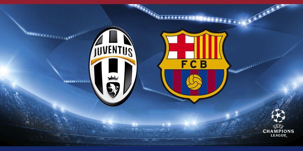 RT @FCBarcelona: Juventus - FC Barcelona ???? #UCL ???????? #ForçaBarça https://t.co/URCWJ0Sl8C