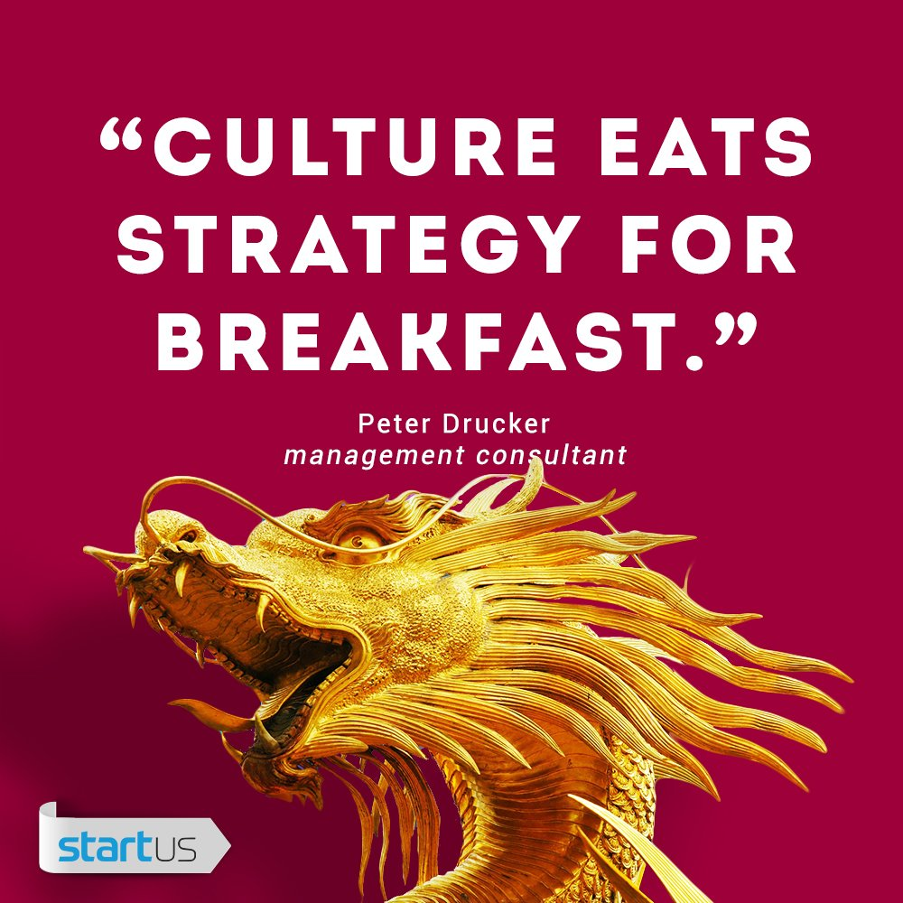 Culture > Strategy. How do you handle it? #startup #culture #quote https://t.co/W4JWg8FRU1
