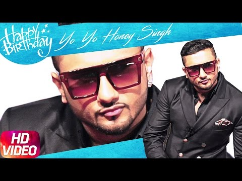 Happy Birthday Yo Yo Honey Singh From Speed Records -