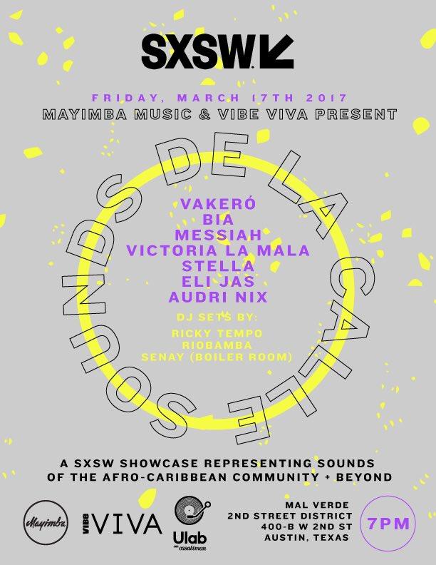 Esta noche we LIT! #SoundsDeLaCalle #SXSW Show w @vibe_viva + @UforiaMusica at La Condesa on 2nd and Guadalupe St! https://t.co/WzvbVCCm3v