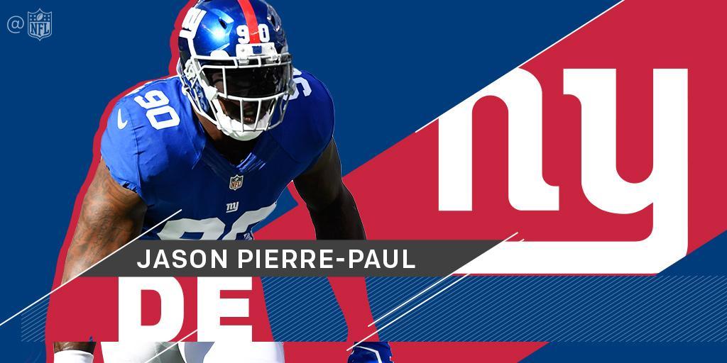 Jason Pierre-Paul, @Giants agree to new four-year deal: https://t.co/qHTjI2bQUv (via @RapSheet) https://t.co/B3kfvHCbbX