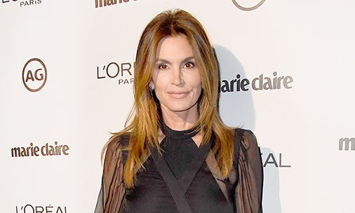 .@CindyCrawford shares her excitement over George Clooney becoming a dad