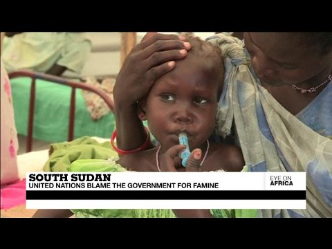 VIDEO -  South Sudan : United Nations blame the government for famine