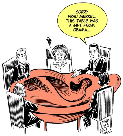 Obama NSA and CIA intercepts of German Chancellor Angela Merkel (archive)