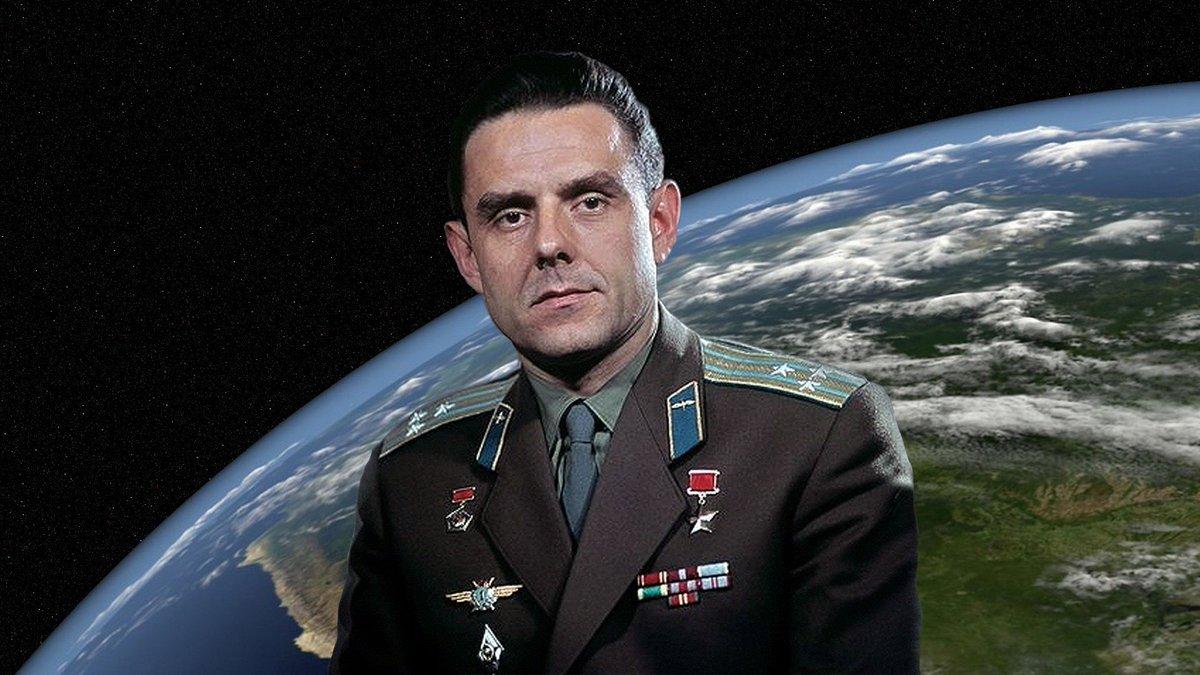 """Aleksandr Gorin в Твиттере: """"90 лет назад 16 марта 1927 г. родился Владимир Комаров - военный летчик, инженер-испытатель, летчик"""
