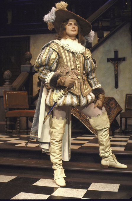 A belated happy birthday to Victor Garber, here in the 1977 production of TARTUFFE. Via