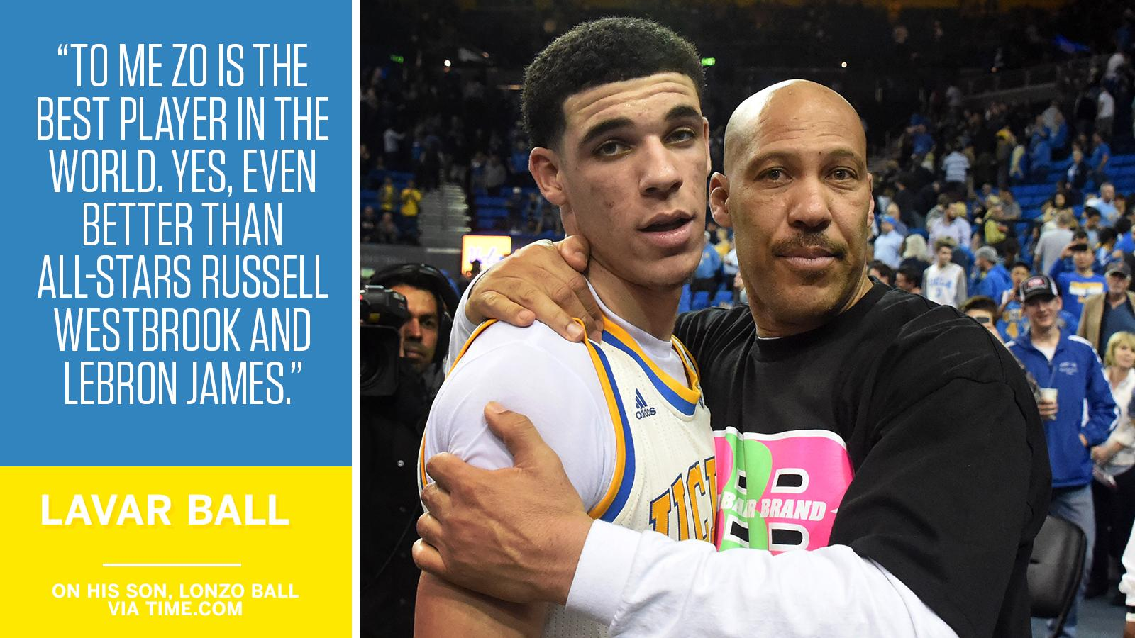 LaVar Ball believes his son is the best player on the planet. https://t.co/sENdrVINm4