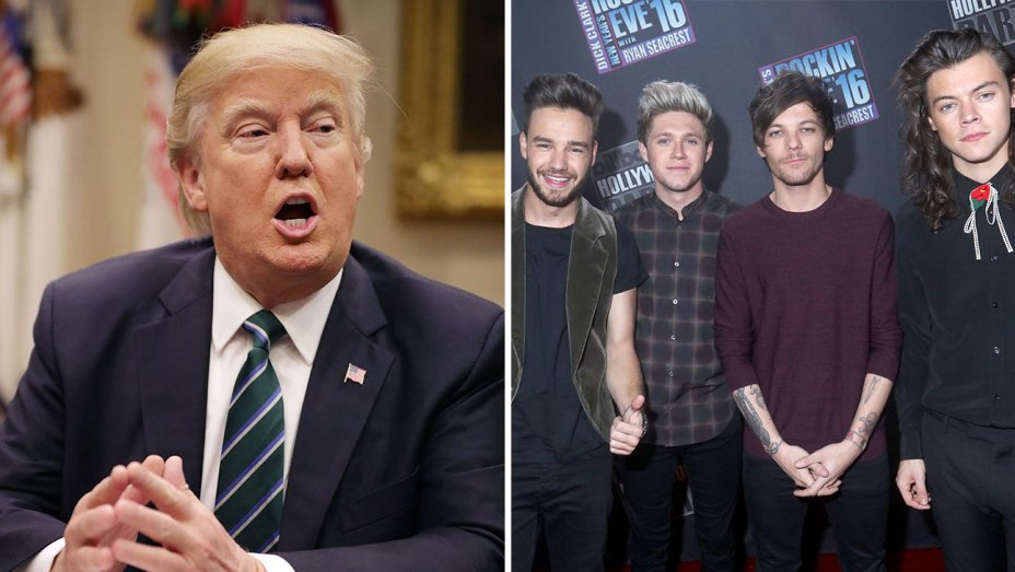 Trump allegedly kicked One Direction out of his hotel for not meeting with his daughter