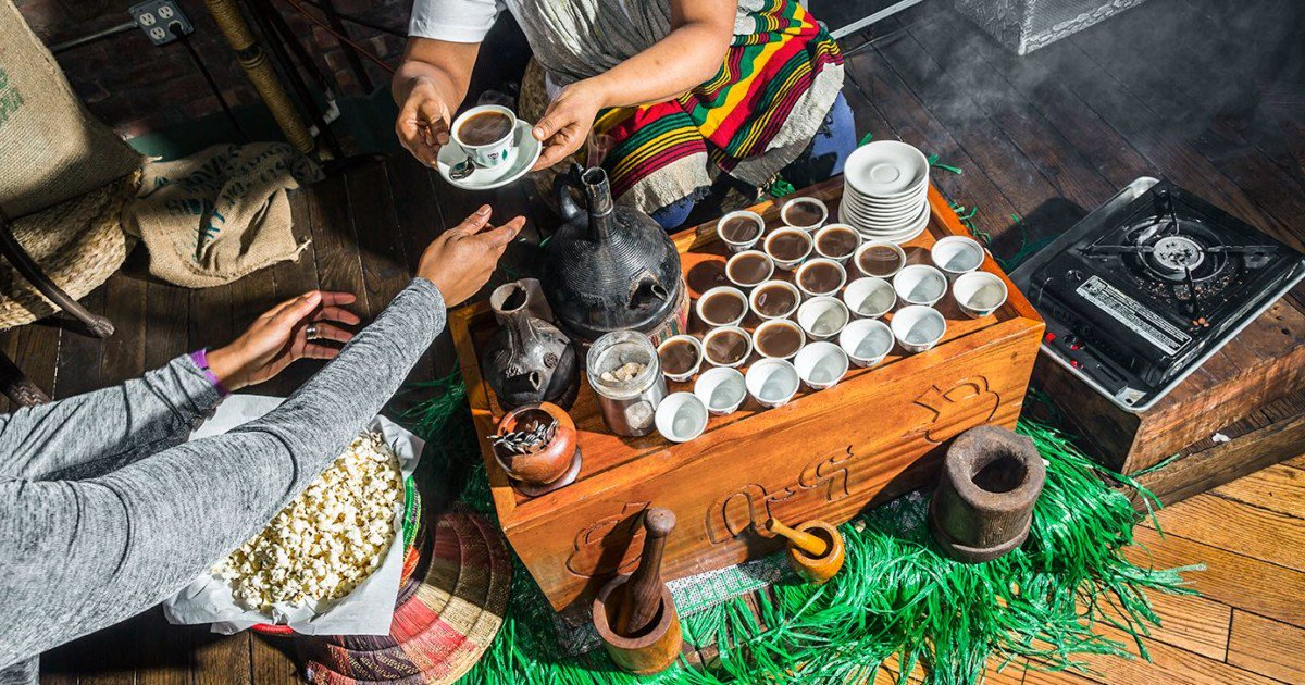 A Vegan Ethiopian Feast at Bunna Café