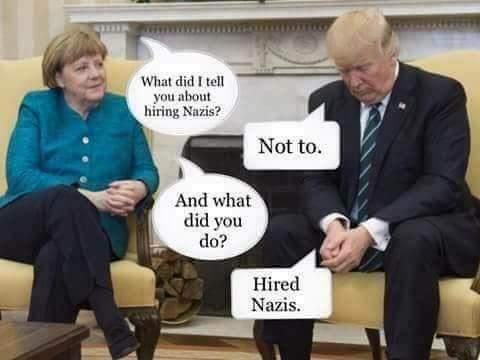 RT @AlexLuck9: These press fotos make for years of good fun... #Trump #Merkel #merkeltrump https://t.co/uEVbt0jl82