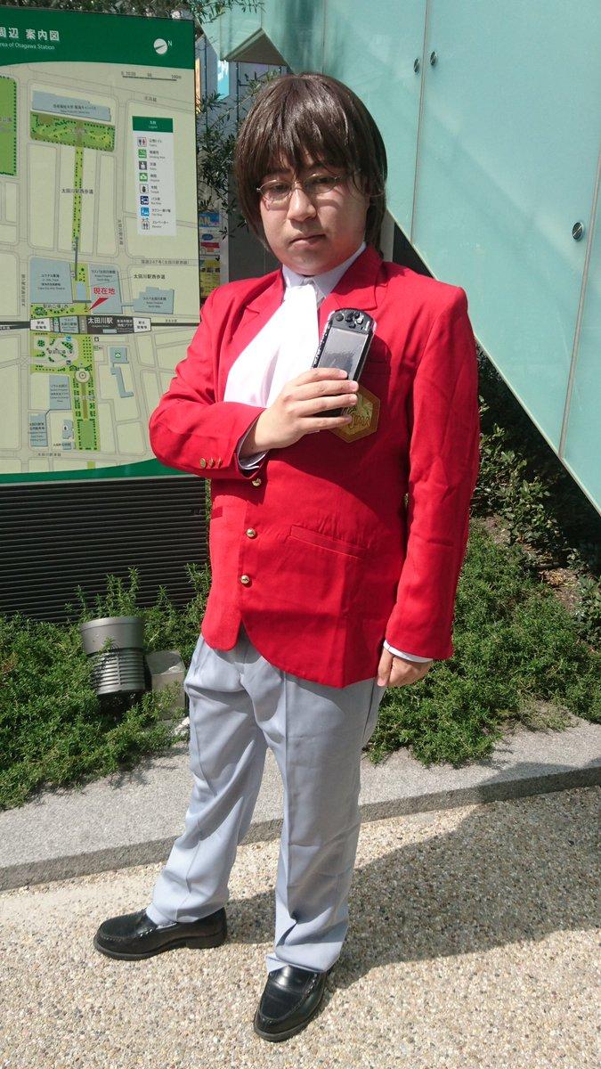 【速報・コスプレ注意】太田川Animanでは神のみで桂木桂馬くんでした!久しぶりのコスプレです。撮影:鶻鷹さん()