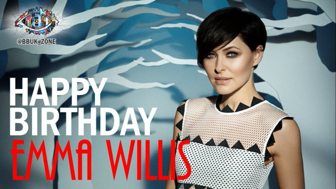 Happy Birthday to the amazing Emma Willis!