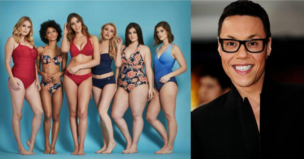 Whatever your body shape, gok wan has the swimsuit to suit ...