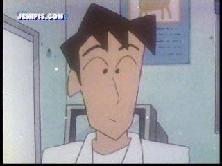 #アニメと漫画でかなり違う作品クレヨンしんちゃんご存じですか?まつざか先生には「徳朗さん」と言う彼氏がいた事を途中チリに