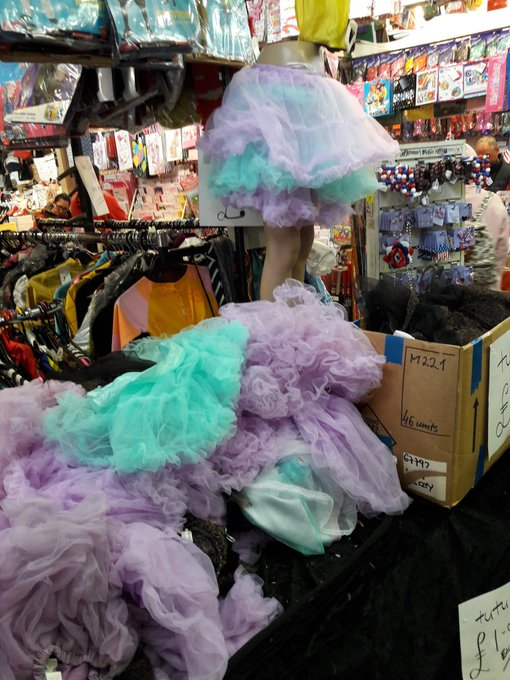 Tutu's on sale!! Shall I get you some? @ArmyMohawk X https://t.co/z4UlpCoJrI
