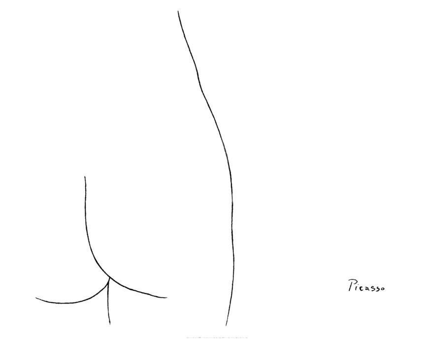 ひお△⃒⃘おしりかじり虫 : RT : パブロ・ピカソ(Pablo Picasso) 「女性 Femme」1909年 #