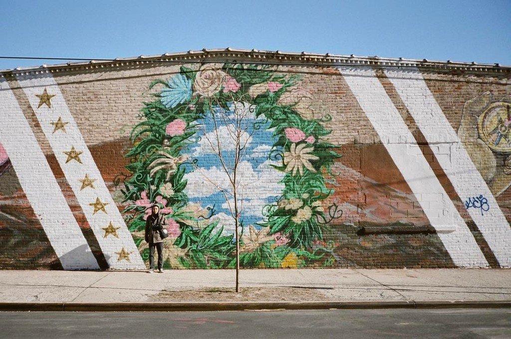 #sky in the #wall #redhook #brooklyn #contaxt3 #film #graffiti #ny #portra400 https://t.co/gpqdZ5r8D0