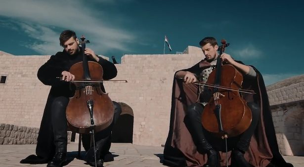 ICYMI, @2CellosinOz rock out in King's Landing for an epic #GameOfThrones medley: https://t.co/cWEMPGoeFH https://t.co/98lwAmegPP