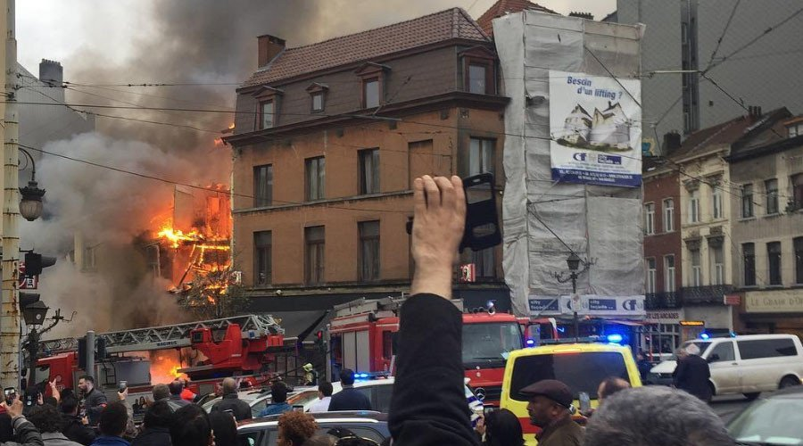 6 injured as huge #explosion rocks #Brussels neighborhood (PHOTOS) https://t.co/F94hNZW5cq by #RT_com via @c0nvey https://t.co/6EVMhH3C63