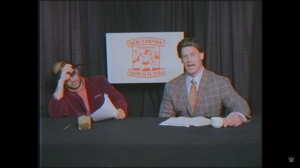 Enjoy #SouthpawRegionalWrestling, @WWE's parody of regional promotions in the '80s: https://t.co/T5PAj845ya https://t.co/iLA3F7icdz