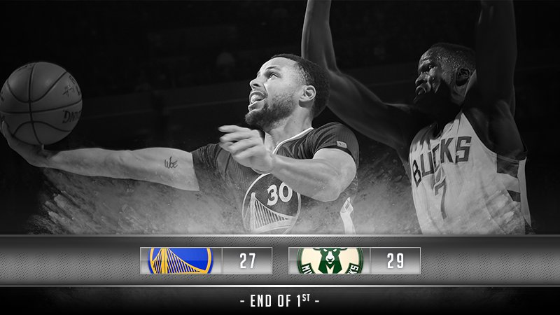 Dubs end the quarter on a 13-2 run ���� #SlateNight https://t.co/ti15WM6FeO