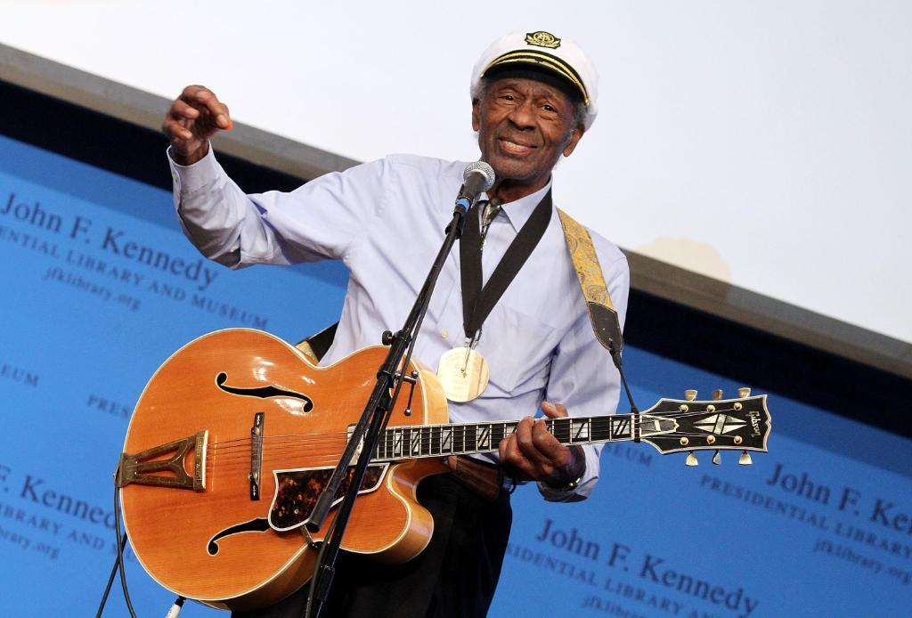 MORE: Musician Chuck Berry died Saturday, police in St. Charles County, Missouri, confirmed