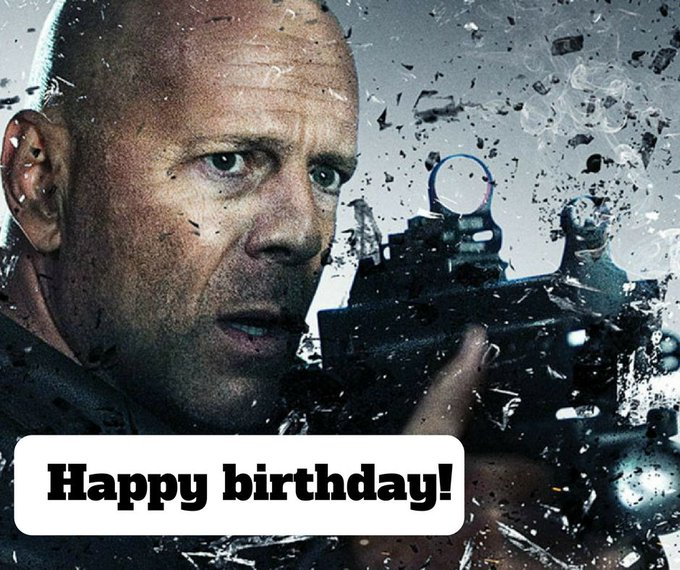 Happy birthday to action legend Bruce Willis! What\s your favourite of his movies?