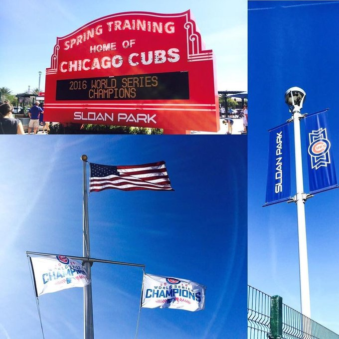 @Phoenix #ChicagoCubs #SpringTraining #Flags #People&Flags #Arizona Fun https://t.co/FiKPd4or3N https://t.co/37A2GMOvLv