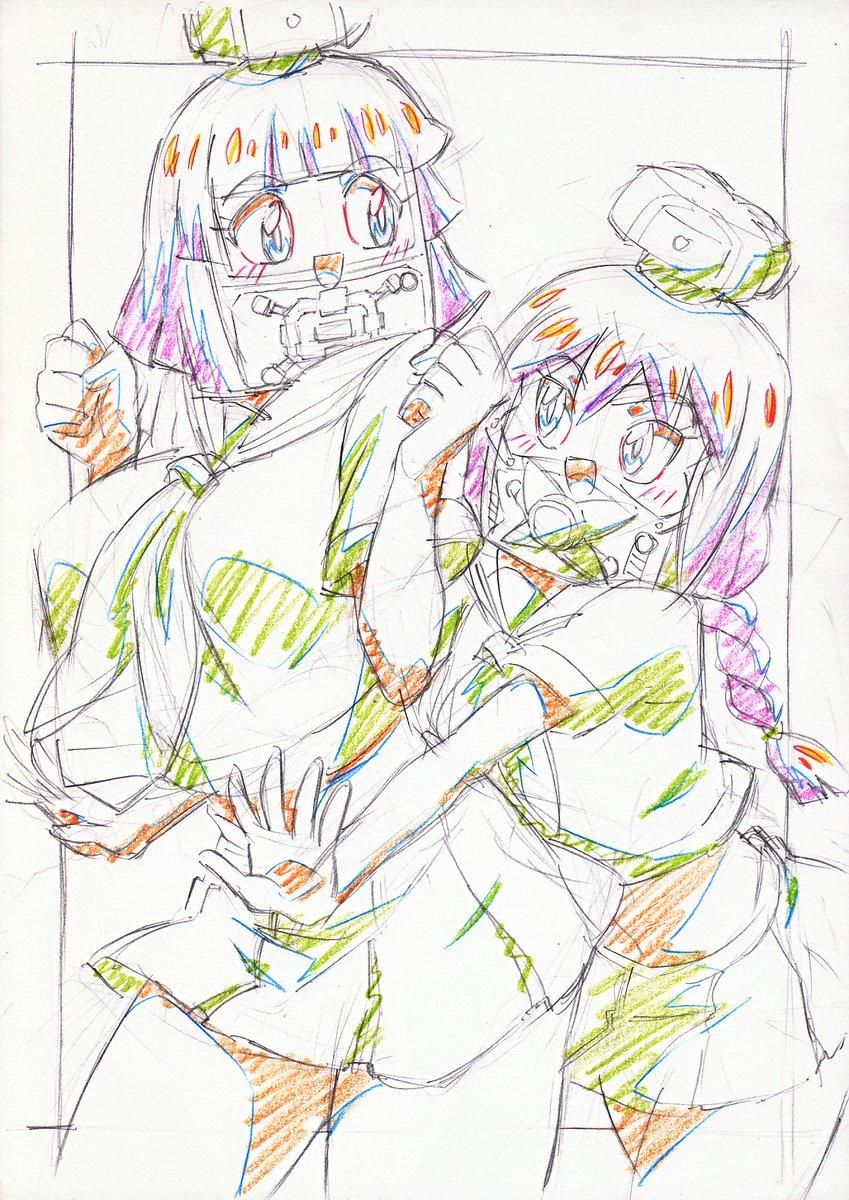 ヘボットにペケットて弟ができたのでヘボ子にもペケ子て妹ができて然るべき。( ')3(' )