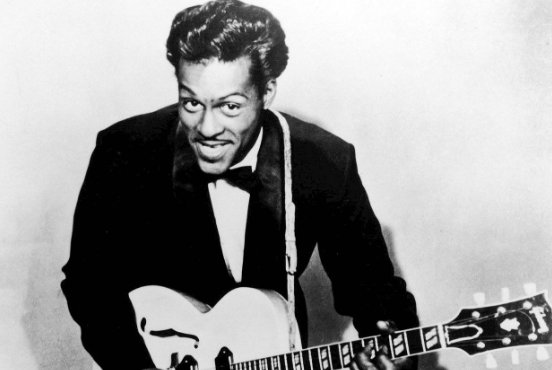 Chuck Berry invented the idea of rock and roll: #RIP https://t.co/sJRHxTpONY https://t.co/VnPspIDqkQ